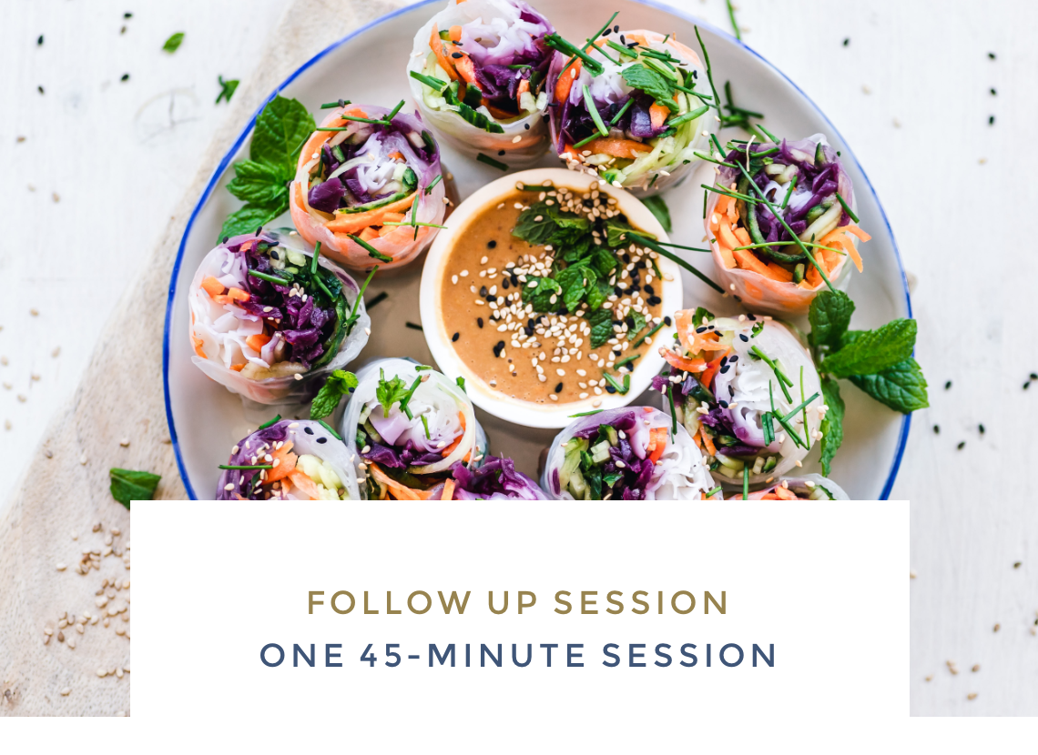 Follow Up Session - One 45-minute session
