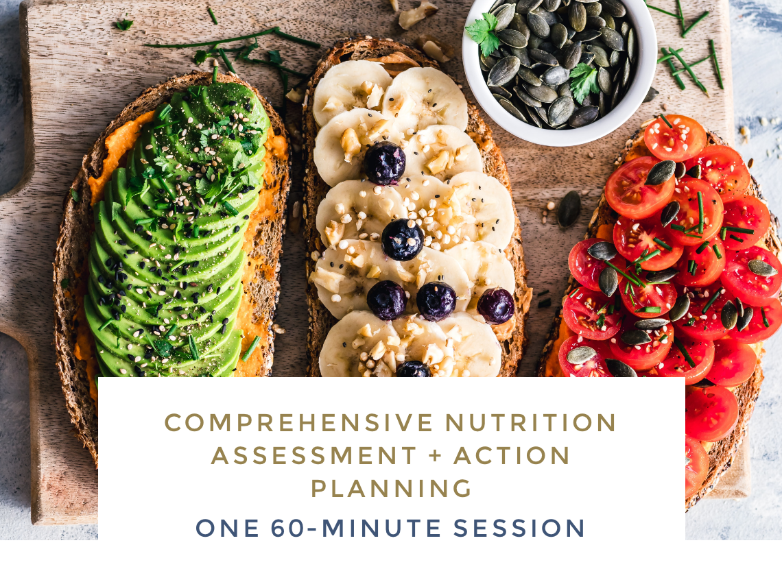 Comprehensive Nutrition Assessment + Action Planning - One 60-minute session